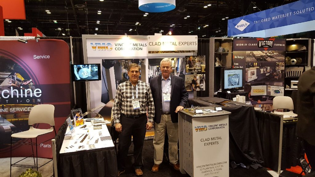 Vincent Metals Booth at Fab Tech 2017
