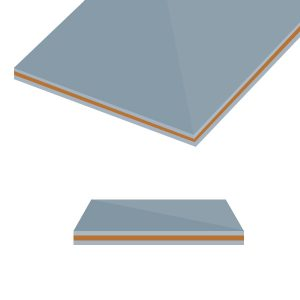 Double Layer Overlay Metal Cladding